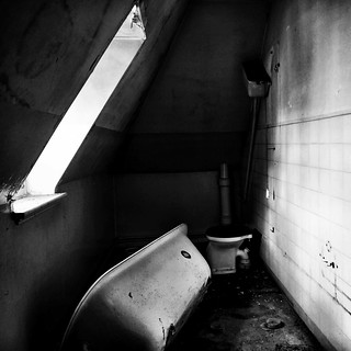 Hospital bathroom