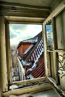 View from an abandoned window