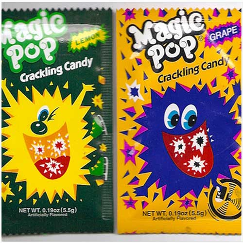 Magic Pop crackling candy