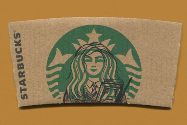 Hermione on StarBucks Mermaid