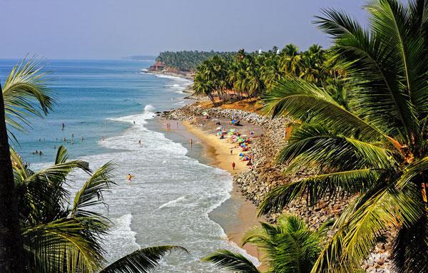 Beautiful Beaches at Marari Beach, Kerala