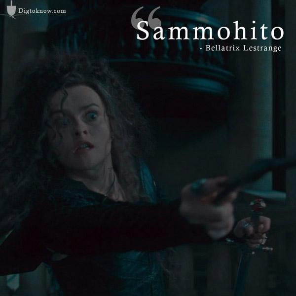 Bellatrix Lestrange Imperio spell
