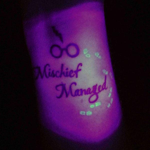 Mischief Managed - Harry Potter Tattoo