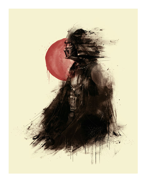 Darth Vader Star Wars Artwork