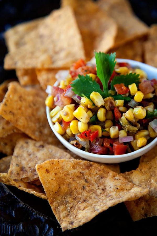 Roasted Corn Salsa - Salsa Recipes
