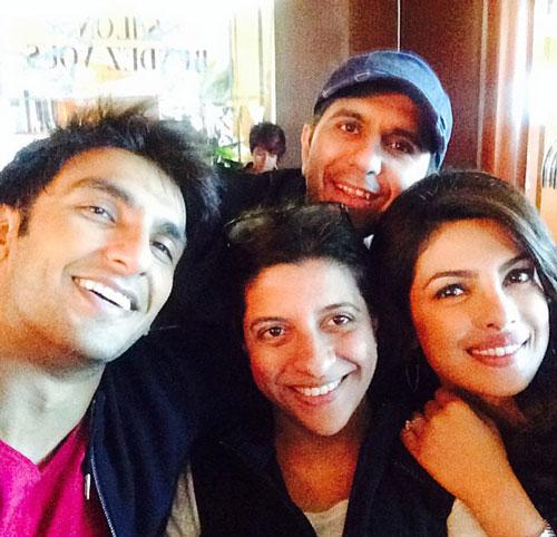 Priyanka Chopra ranveer singh selfie