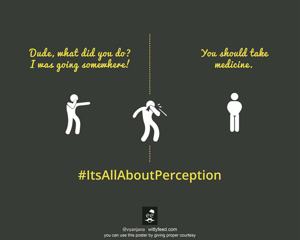 Perception about the person's health