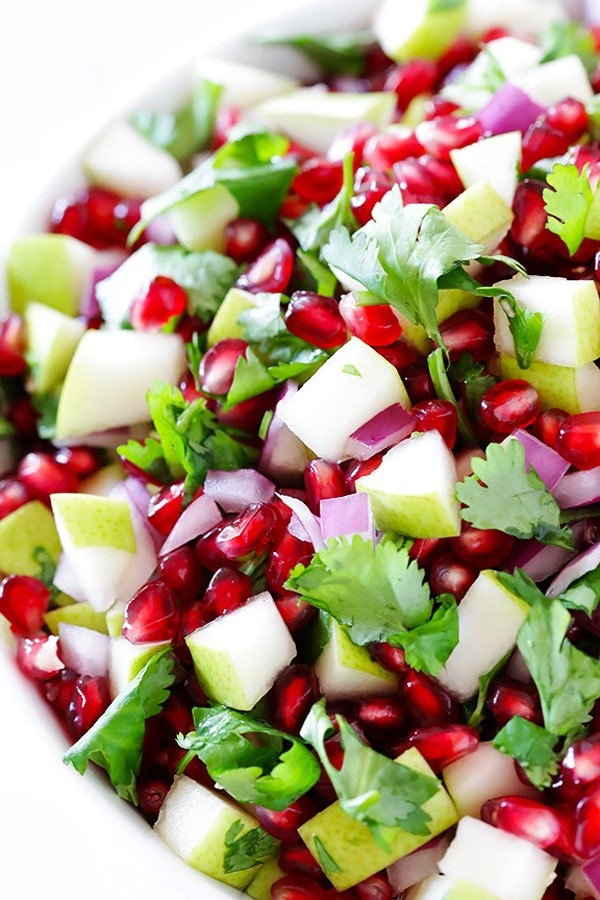 Pomegranate and Pear Salsa - Salsa Recipe