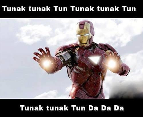 Iron man dancing on tunak tunak tun