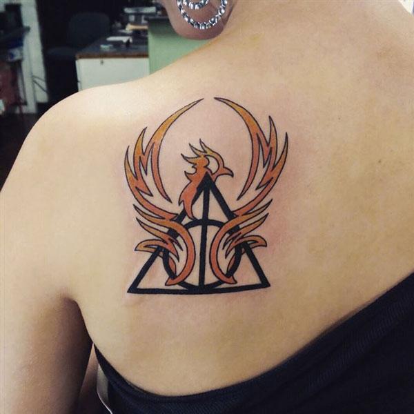 Deathly Hallows- Harry Potter Tattoo