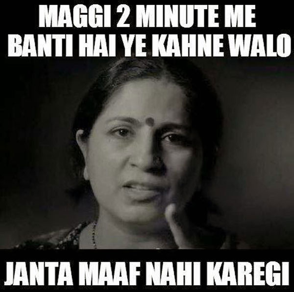 Maggi Trolls never cooks in 2 minutes