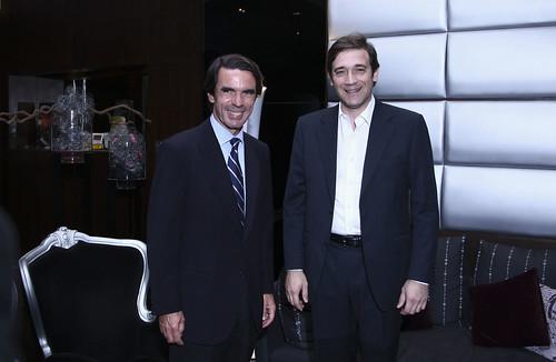 Pedro Passos Coelho e José Maria Aznar