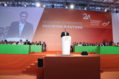 Sessão Encerramento do XXIV Congresso Nacional da JSD