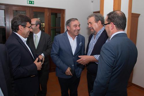 José Silvano na tomada de posse do PSD de Arganil