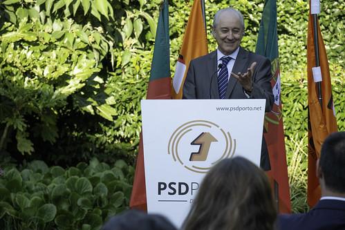 Tomada de posse dos Órgãos Distritais do PSD Porto.
