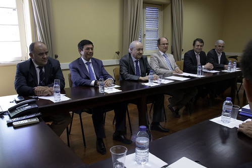 Rui Rio em reunião com a CCP