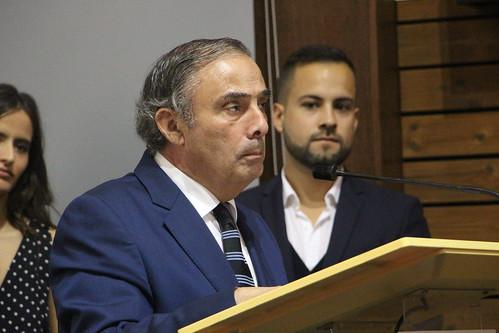 José Silvano na Tomada de Posse do PSD Gondomar