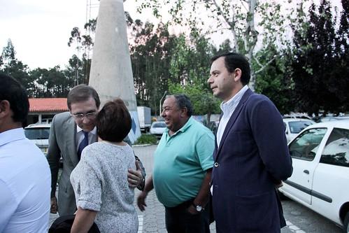 Pedro Passos Coelho na apresentação da candidatura autárquica do PSD em Vagos