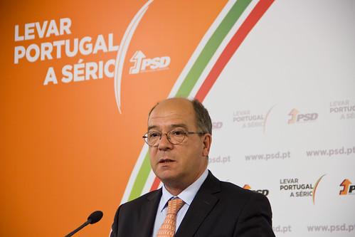 Carlos Carreiras em Conferência de Impresa