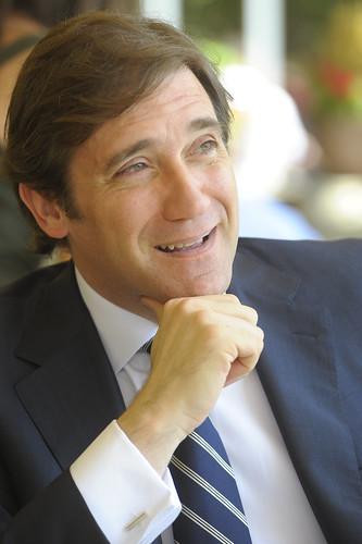 Pedro Passos Coelho em Madrid - Julho de 2010