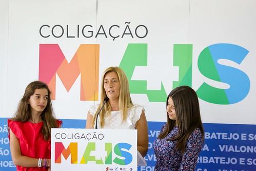 Autárquicas 2017: Apresentação da candidatura de Helena Pereira de Jesus à Câmara Municipal de Vila Franca de Xira