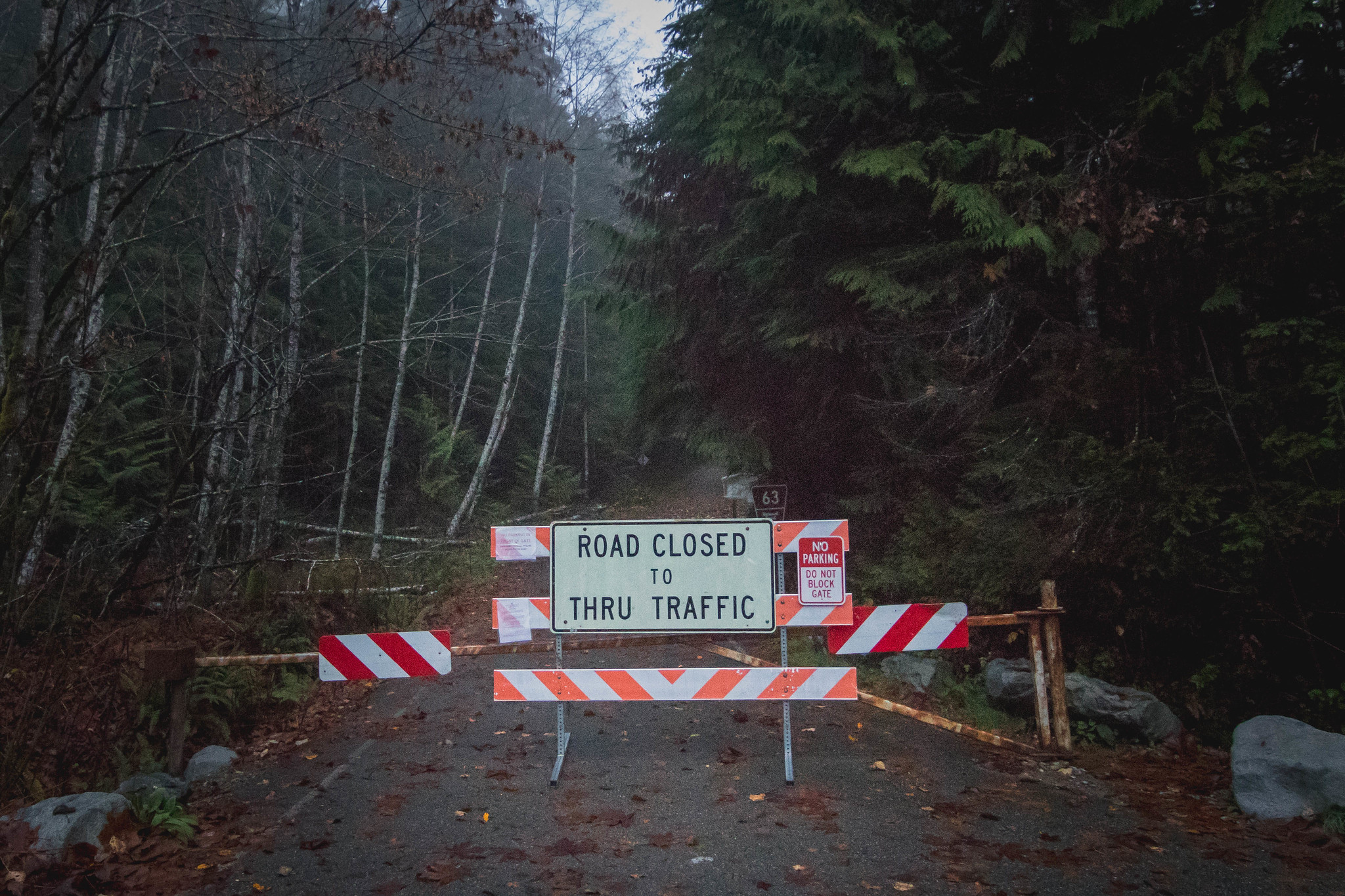 Road 63 closure
