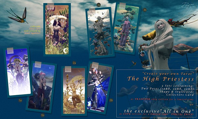 ROQUAI at CyoT pres. The HIGH PRIESTESS (15th May - 1st June)