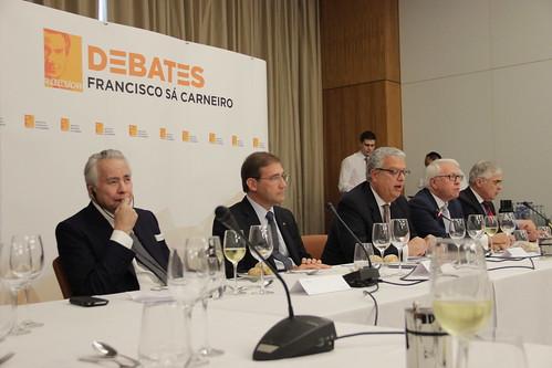 """Pedro Passos Coelho na iniciativa """"Debates Francisco Sá Carneiro"""""""