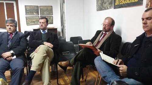 Reunião da Secretaria-Geral com a Distrital de Évora