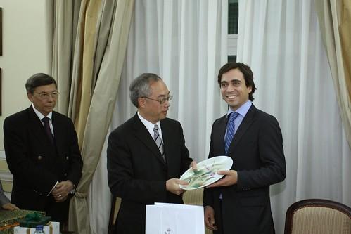 Visita delegação Chinesa