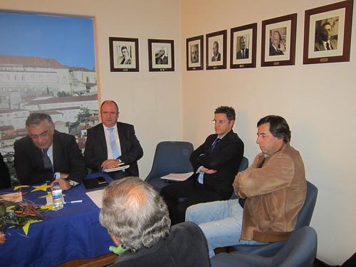 Reunião da Secretaria-Geral com a Distrital de Coimbra