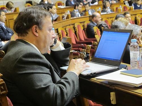 Ministra da Justiça na Assembleia da República