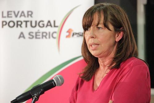 Teresa Leal Coelho em Valpaços