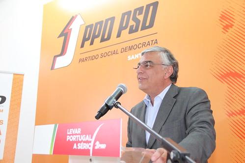 José Matos Rosa em Santarém