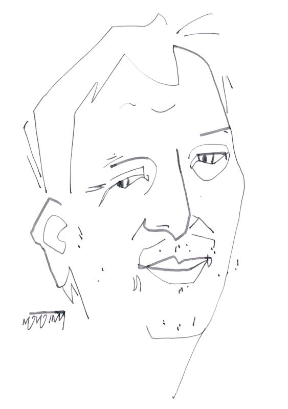 Franklin #Drawing, #Jkpp, #JuliaKaySPortraitParty, #Portrait