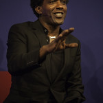 Lemn Sissay | Sissay glides between the political and personal as he shares poems from Gold from the Stone © Robin Mair