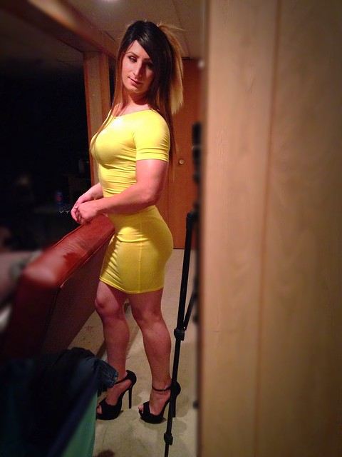 Going out tonight in this dress, I'm loving it :)