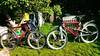 Zwei Staiger Fahrräder