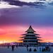 Temple Panorama Sunrise by digital-dreams