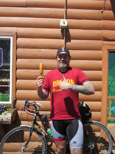 Corndog!  Food of the Gods!