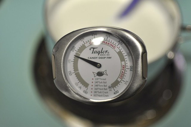 thermometer in milk