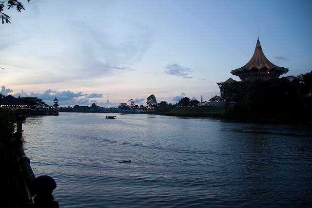 evening Kuching