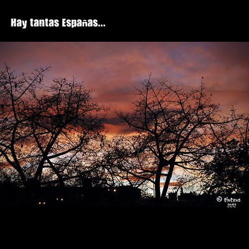 HAY TANTAS ESPAÑAS...