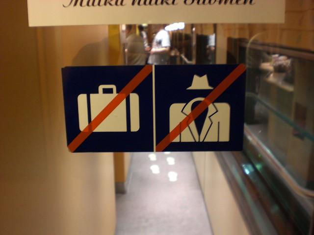 Instrucciones de trenes en Finlandia: no a hombres invisibles