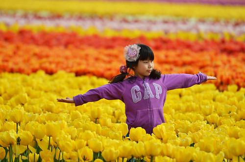 Candid @ Tulips Garden