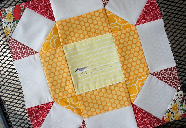Radiant Ring Block for Elizabeth