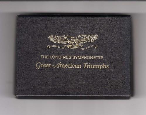 Longines Symphonette medals