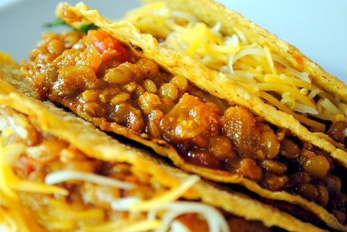 lentil tacos