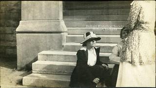 Chatting on the Steps, 30b
