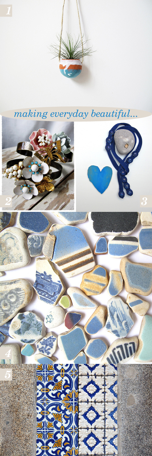 making everyday beautiful : delft blue collection | Emma Lamb